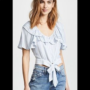 Free People The Rosemary Top - Ivory